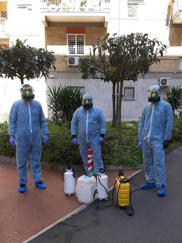 Sanificazione e igienizzazione da covid-19 coronavirus a Roma
